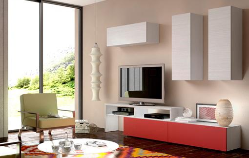 Muebles de salón, comprar comedor moderno y actual con televisor