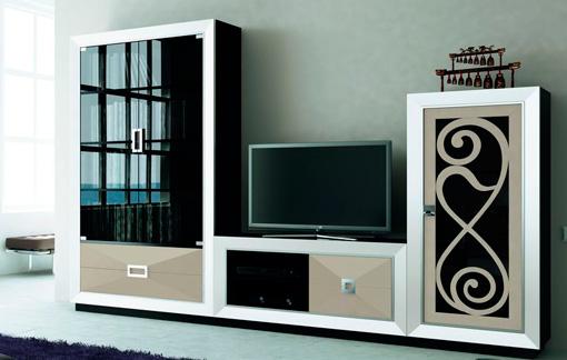 mueble de diseño vanguardista para salón - Muebles De Diseno Salon