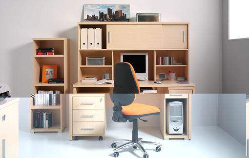 el escritorio de trabajo en casa