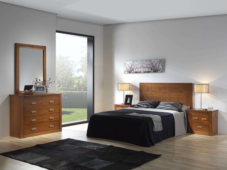 mueble de dormitorio en madera de pino
