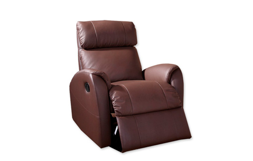 Sill n relax combinado piel natural y ecol gica for Sillon relax piel