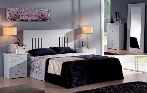 Dormitorios y habitaciones de matrimonio, cabecero camas y mesitas