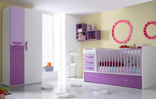 Dormitorio infantil de muebles convertibles for Muebles dormitorio infantil juvenil