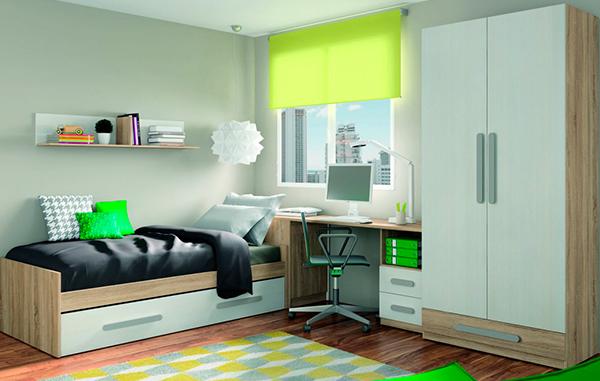 Dormitorios juveniles muebles para habitaciones for Precios de dormitorios infantiles
