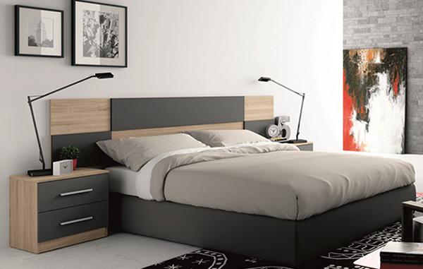 Dormitorios y habitaciones de matrimonio cabecero camas y for Ofertas dormitorios matrimonio