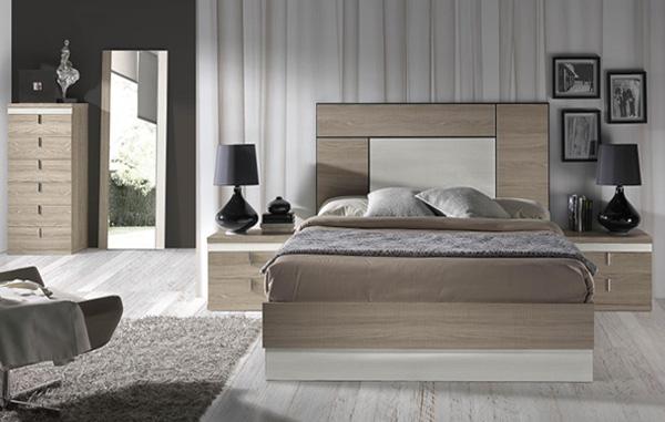 Dormitorios y habitaciones de matrimonio cabecero camas y for Dormitorio matrimonio cama canape