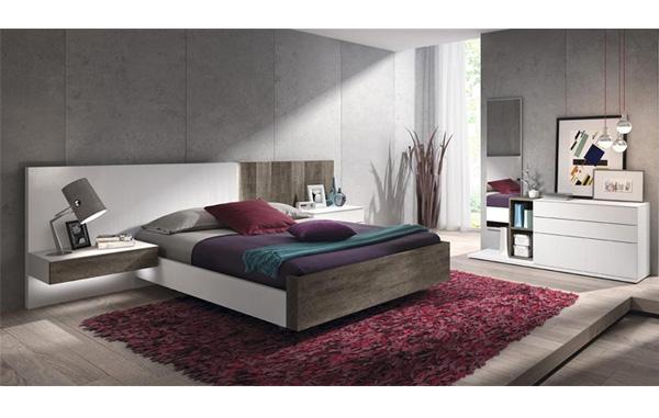 Dormitorios y habitaciones de matrimonio cabecero camas y for Dormitorio roble moderno