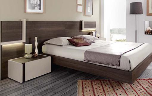 Dormitorios y habitaciones de matrimonio cabecero camas y for Dormitorios 2 camas muebles