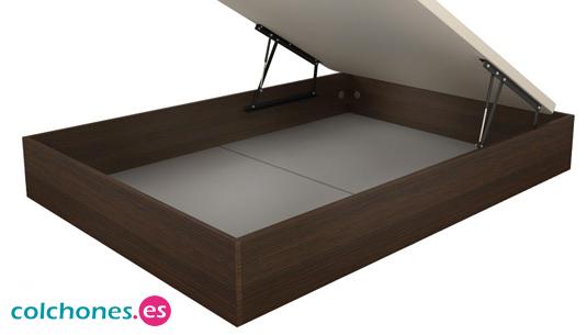 Colchones viscoela sticos somier cama de muelles y equipo for Estructura cama 90x190